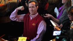 santorum sweater vest NFL picks