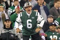 Fireman Ed jumps a cliff