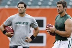 tebow and sanchez