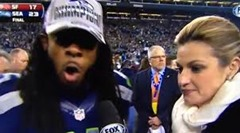 richard sherman picks the super bowl