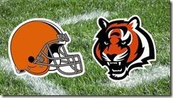 Browns versus Bengals
